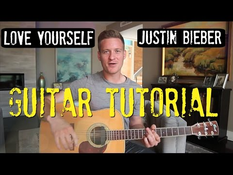 Justin Bieber - Love Yourself - Guitar Tutorial!