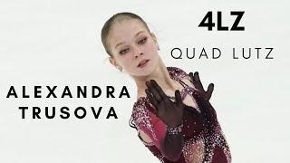 Alexandra TRUSOVA QUAD LUTZ 4Lz