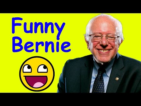 Bernie Sanders Funny Moments Compilation (Bernie 2016)
