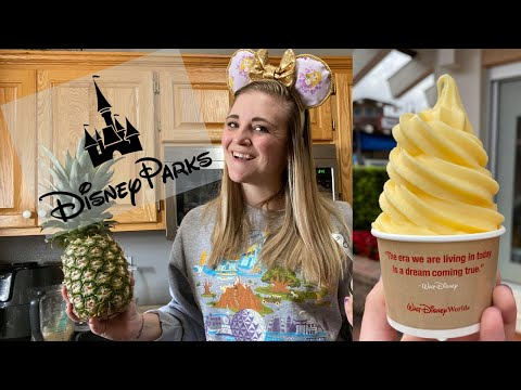 How To Make Disney Parks 'Dole Whip' At Home