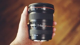Canon 17-40mm f4 L Lens Review! + Photos (Full Frame)