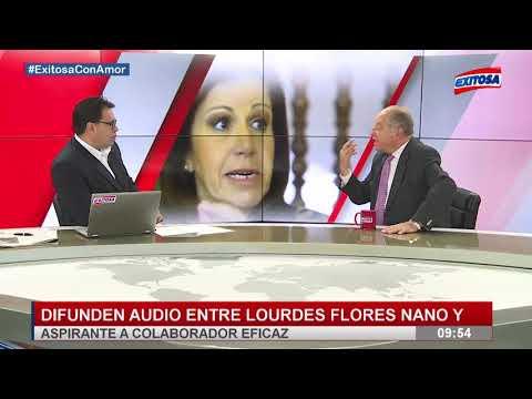 Ántero Flores Aráoz nos comenta sobre los audios de Lourdes Flores Nano