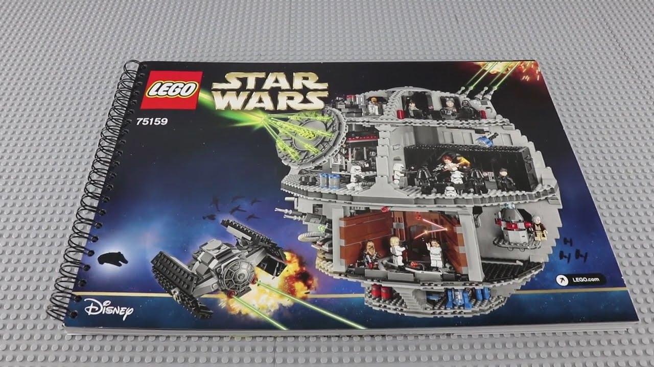 Lego 75159 2016 Star Wars Death Star Instructions Book Building