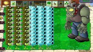 Plants vs Zombies Hack - Gatling Pea vs Snow Pea PvZ