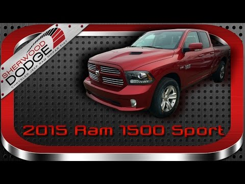 2015 Ram 1500 Sport Review | Edmonton AB, Sherwood Dodge