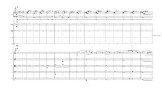 相川結月 交響曲第三番 第三楽章 (2017-2018) ピアノ以下の楽譜のみ 編...