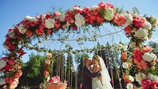 видео Свадьба на природе в шатре