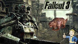 RATAS TOPO Y LA ESCOPETA! Fallout 3 español