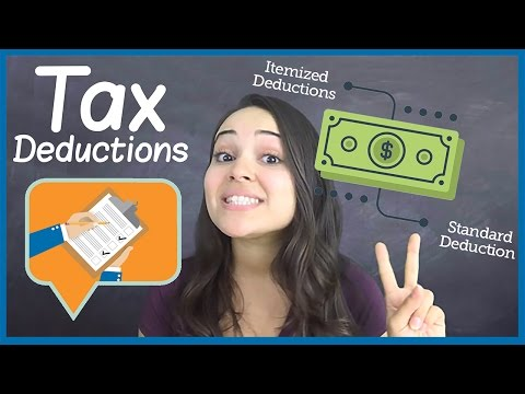 Tax Deductions - How To Save Money On Your Taxes!