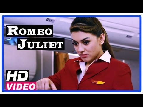 Romeo Juliet Tamil Movie | Scenes | Hansika misunderstood Jayam Ravi as a VIP