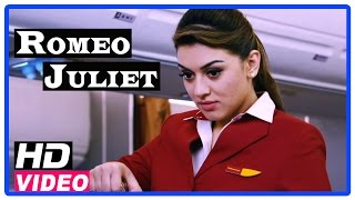 Romeo Juliet Tamil Movie | Scenes | Hansika misunderstood Jayam Ravi as a VIP