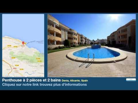 Penthouse à 2 pièces et 2 bains à vendre à Denia, Alicante, Spain