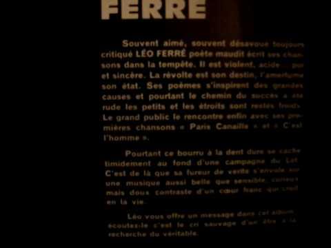 Léo Ferré Jolie Môme