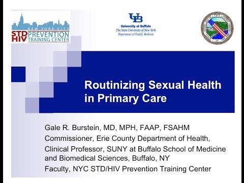 Routinizing Sexual Health in Primary Care