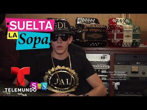 Suelta La Sopa | Nitro Goyri habla de su carrera y de su padre Sergio Goyri | Entretenimiento