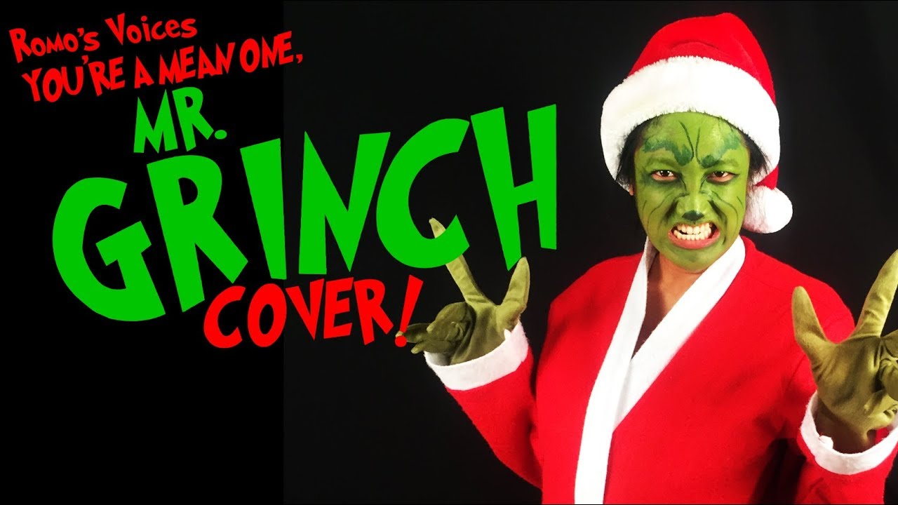 """""""You're a Mean One, Mr. Grinch"""" Cover (Jim Carrey) - How the Grinch Stole Christmas   Romo's ..."""
