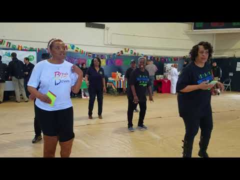 Break It Down Soul Line Dance at the Cal Maritime Unity Council