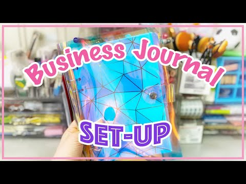 How to make Business Journal | 6-Ring Binder Journal Set-up