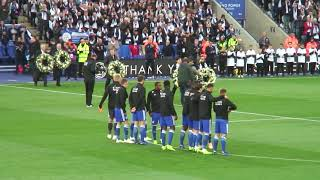 Leicester City Remembrance Day  tribute to Khun Vichai  (The Boss)
