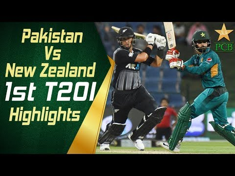 Pakistan Vs New Zealand 2018 | 1st T20I | Highlights | 31 Oc