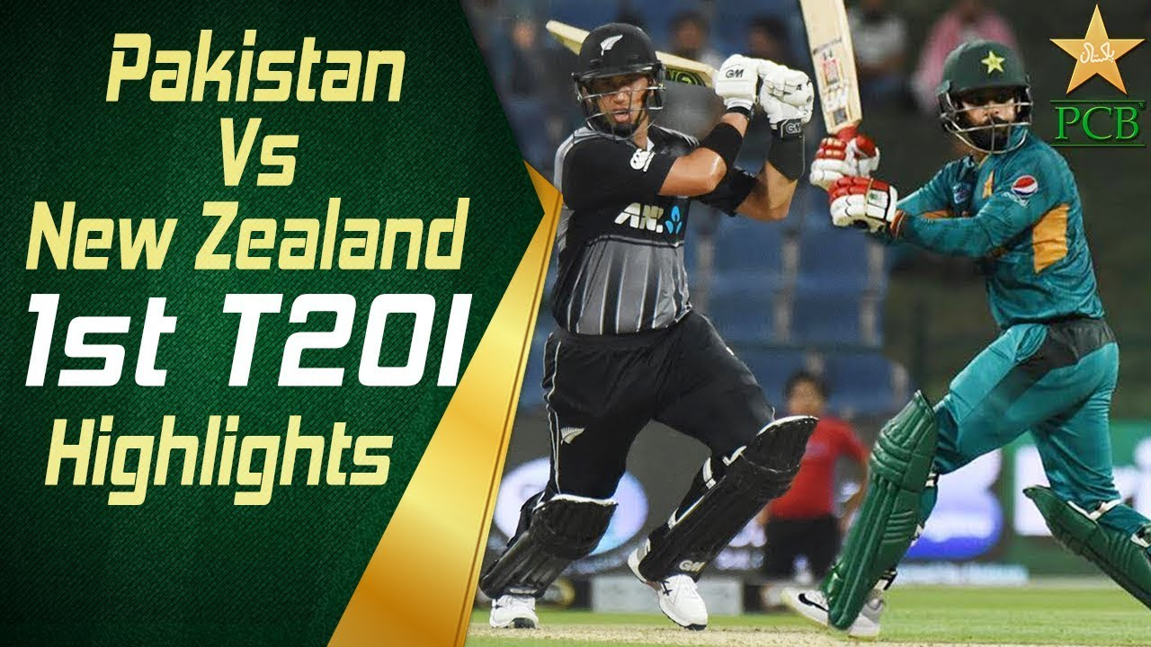Pakistan Vs New Zealand 2018 | 1st T20I | Highlights | PCB