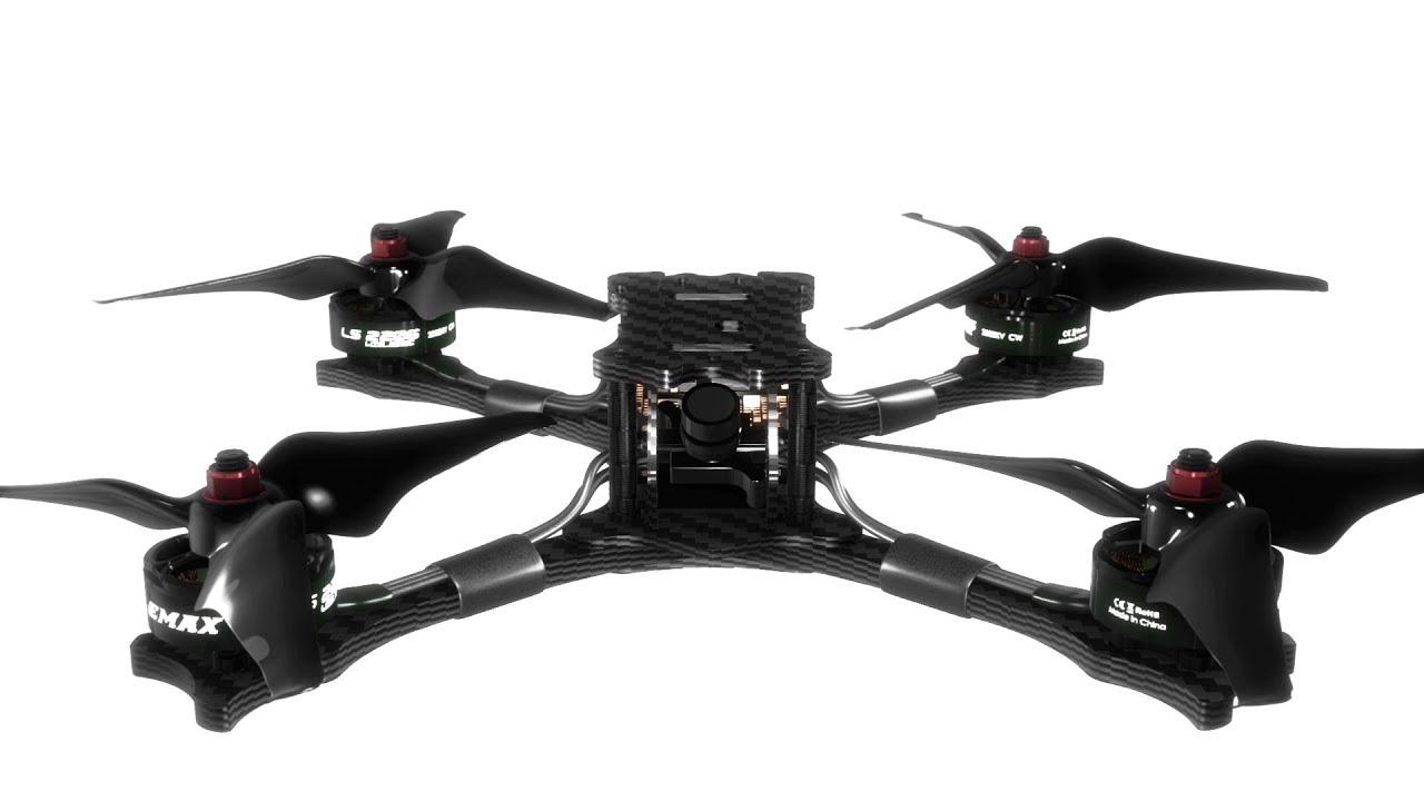 Emax HAWK 5 FPV Racing Drone F4 OSD BLHeli_S 30A FrSky XM+ RX Foxeer Arrow  Micro V2 600TVL BNF