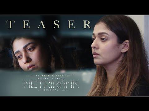 NetriKann Movie Official Teaser Review   HBD Nayanthara   Vignesh Shivan   Milind Rau   HD