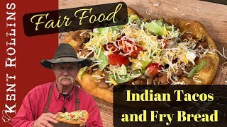 Indian Tacos with Fry Bread -  Easy Fair Food Favorite