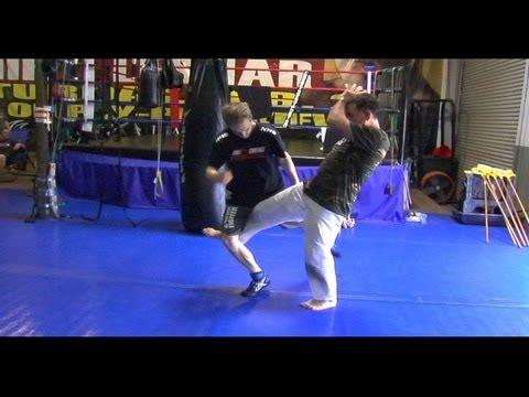 Kyokushin Kicking Drills with Shihan Cameron Quinn