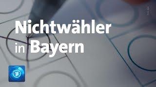 Vor Landtagswahl in Bayern: Wer sind die Nichtwähler?