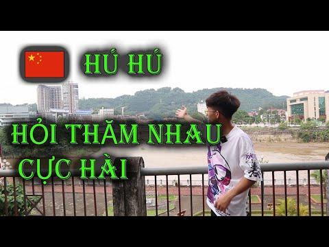 VIỆT NAM  TRUNG QUỐC đứng bờ biên giới HỎI THĂM NHAU CỰC KỲ HÀI HƯỚC -Trai Lào Cai