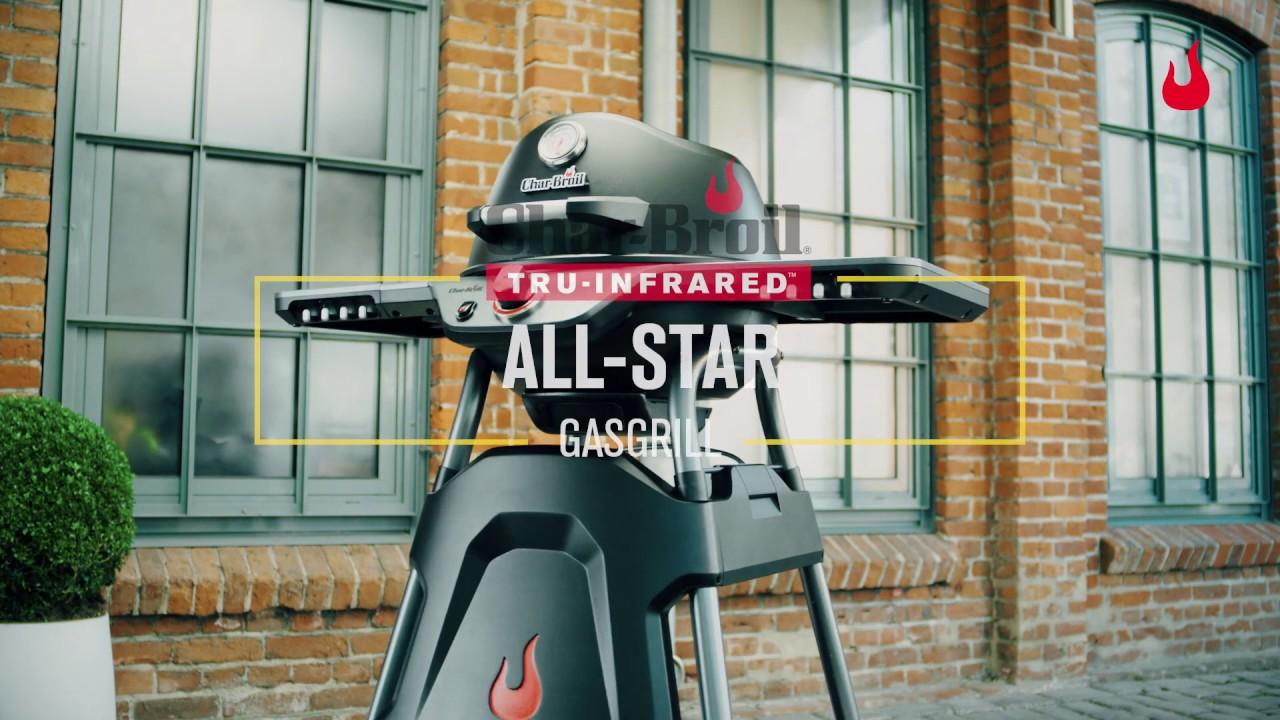 Billig Charbroil Gasgrill : All star gasgrill char broil youtube