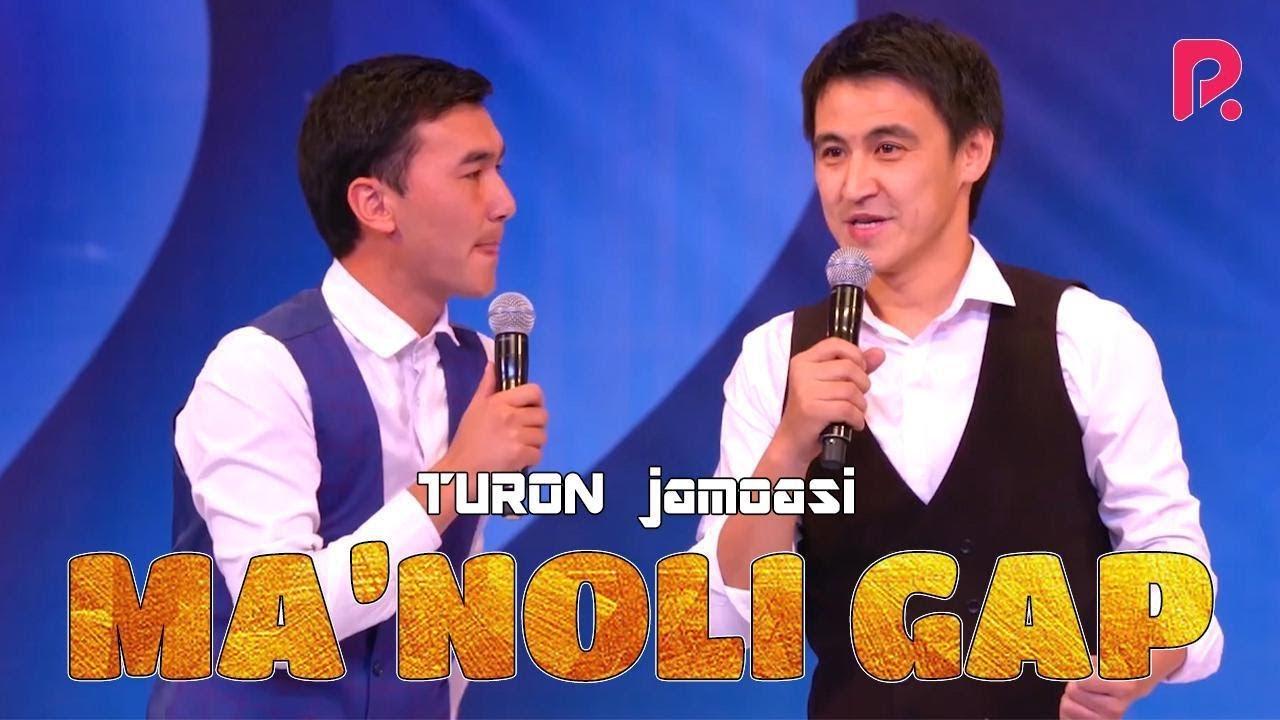 QVZ 2019 - TURON jamoasi - Ma'noli gap