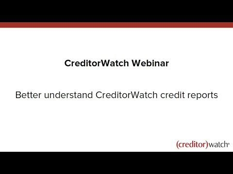 Better understand our credit reports