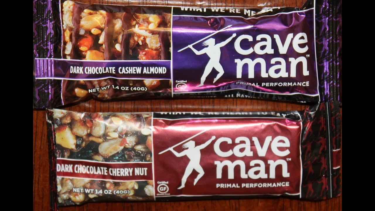 Caveman Food Bars : Caveman foods: dark chocolate cashew almond & cherry