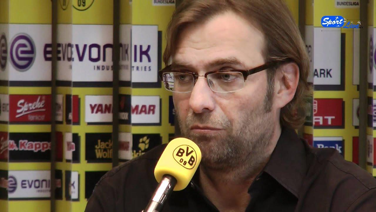 VfL Wolfsburg - Borussia Dortmund: Die PK vor der Partie mit Jürgen Klopp
