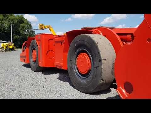 Sandvik Tamrock Underground Loader LHD Used For Sale EJC 115 Tunneling Machinery Ready To Work