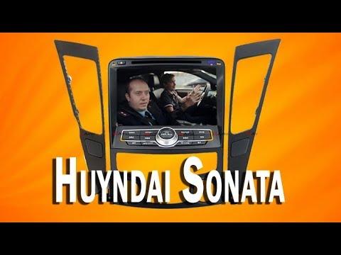 Штатная магнитола Хендай Соната на Android с навигацией