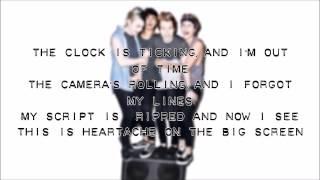 Repeat youtube video 5SOS - Heartache On The  Big Screen Lyrics