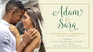Casamento - Adam e Sara