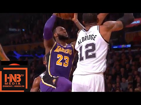 Los Angeles Lakers vs San Antonio Spurs 1st Half Highlights | 12.05.2018, NBA Season
