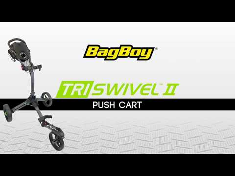 Bag Boy Tri Swivel II Push Cart