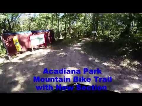 Acadiana Park Mountain Bike Trail - Lafayette, LA