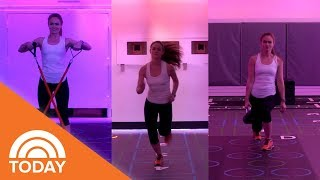 This High-Intensity Workout Makes It Feel Like You Stepped Into A Video Game | TODAY
