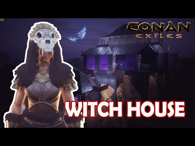 Conan Exiles || Building A Witch House - The Savage Frontier - Speed Build