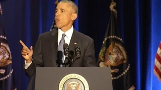 Obama Delivers Farewell Speech to the Nation Free HD Video