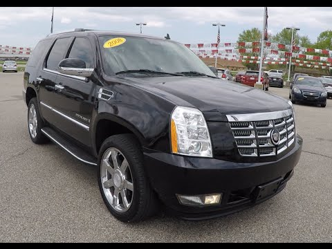 Used 2008 Cadillac Escalade Black | Chrome Wheels | Luxury SUV | P10065A