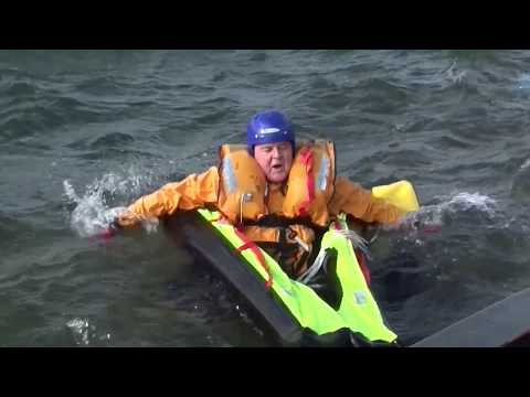 Single Life-rafts being put to the test - Survival Equipment Services (SES)