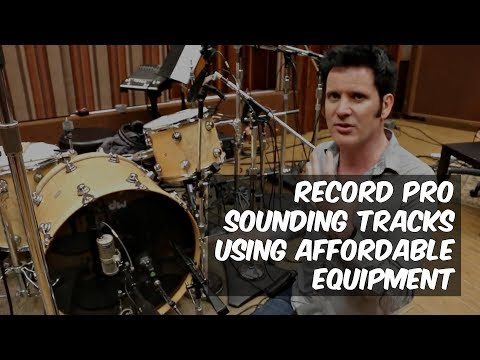Record Pro Sounding Tracks Using Affordable Equipment: Warren Huart - Produce Like a Pro