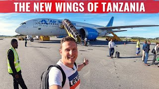 The WORLD39s FIRST AIR TANZANIA 787 DREAMLINER REVIEW in BUSINESS CLASS